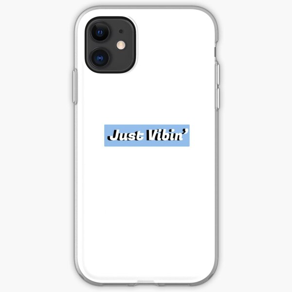 Just Vibin' iPhone Soft Case