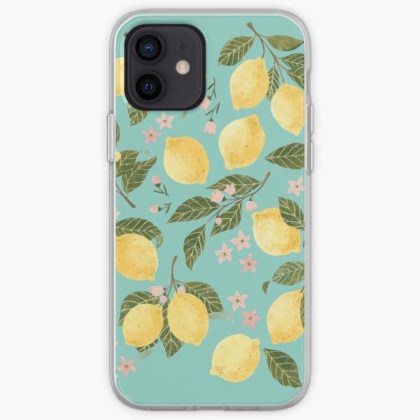 Gouache Lemons iPhone Soft Case