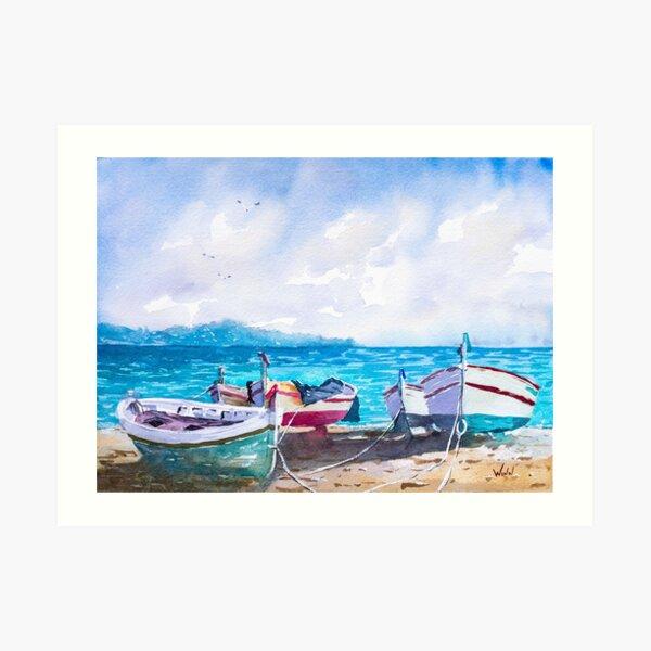The Angler's Fleet Art Print
