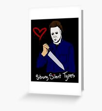 Horror Boyfriends- Michael Myers Greeting Card
