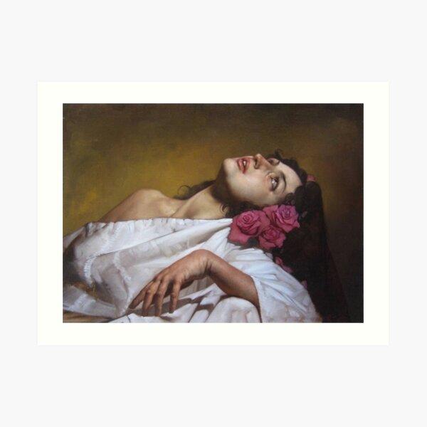 Santa Rosalia Roberto Ferri Art Print