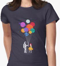 Für dich alles Tailliertes T-Shirt für Frauen
