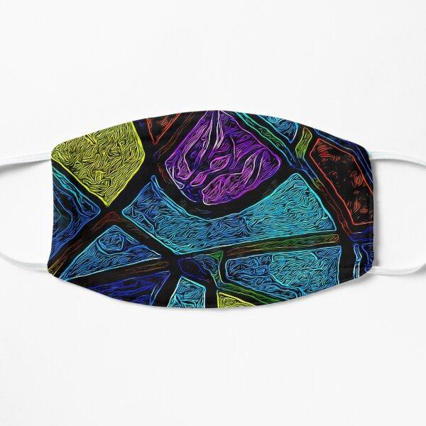Tribal Colors Flat Mask