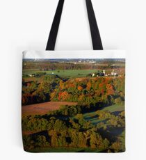 Fall from Above... Tote Bag