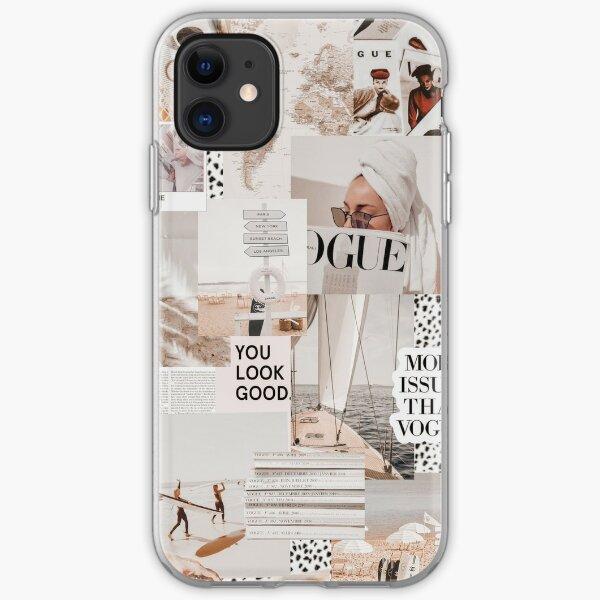 COASTAL VOGUE VSCO COLLAGE iPhone Soft Case