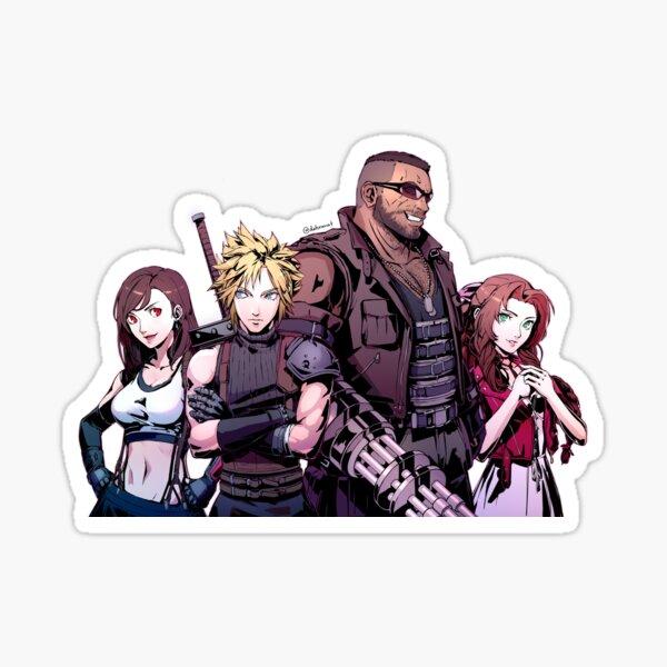 FF7R Persona Style Sticker