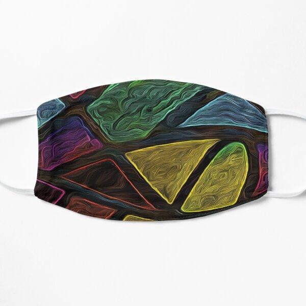 Tribal Shapes Flat Mask