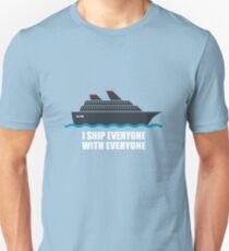 OTE: I Ship Everyone With Everyone Unisex T-Shirt