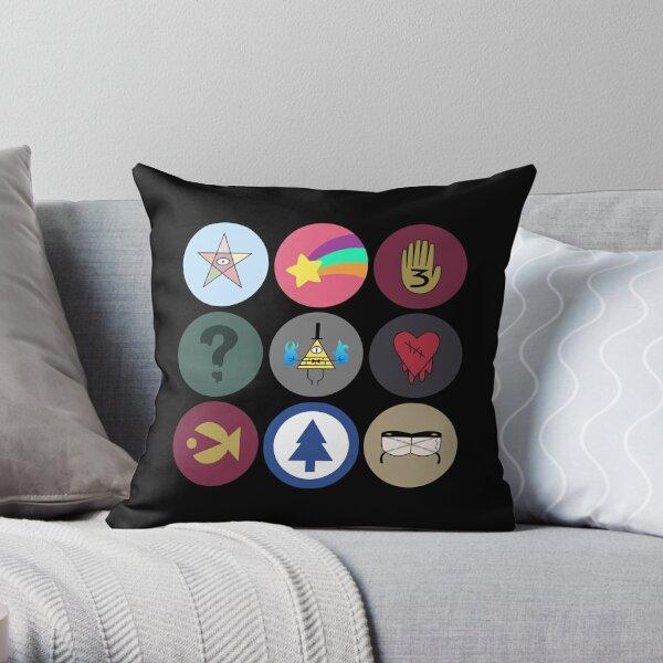 Gravity Falls Cipher Wheel Cojín