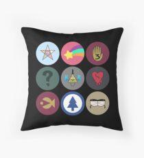 Gravity Falls Cipher Wheel Throw Pillow