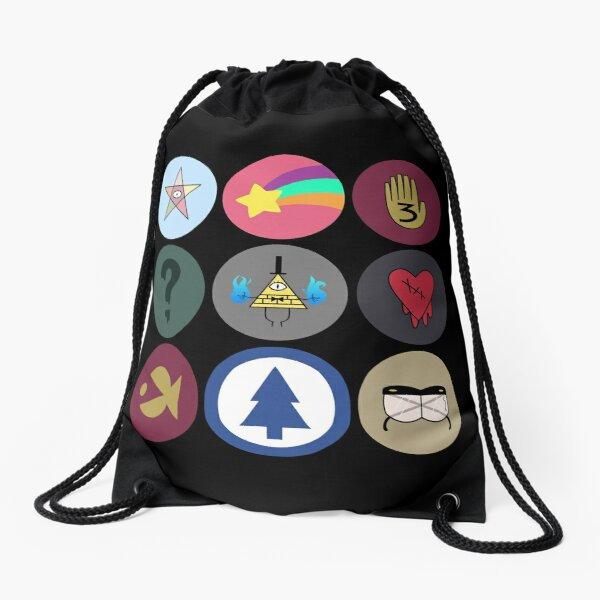 Gravity Falls Cipher Wheel Mochila saco