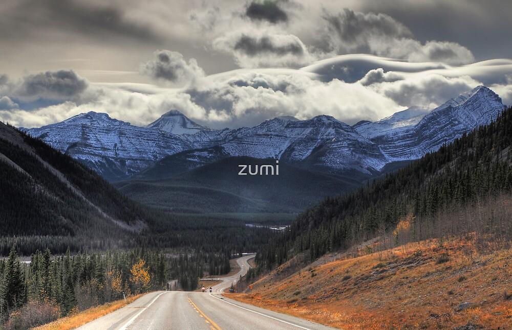 Winding road by zumi