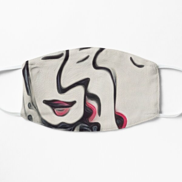 The Kiss Flat Mask