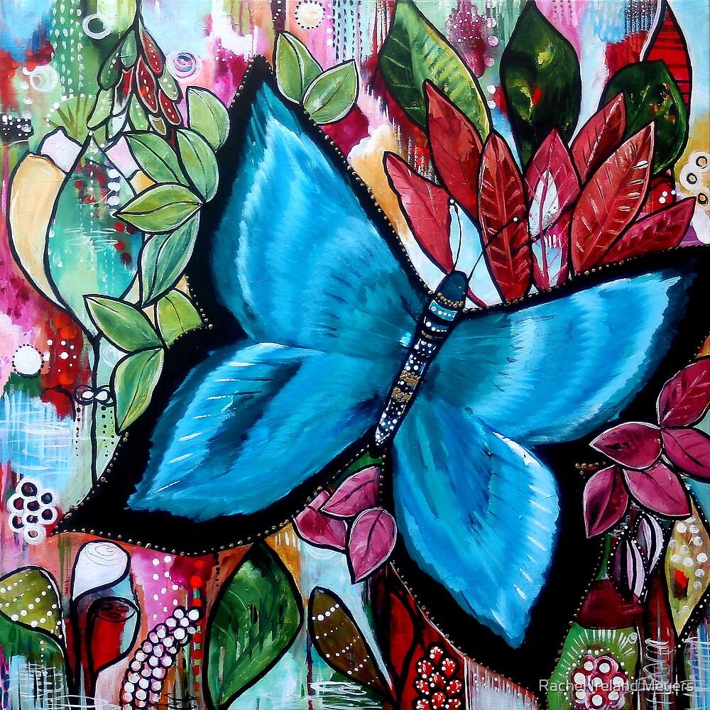'Blue Butterfly' by Rachel Ireland Meyers