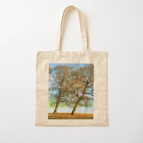 Three Oaks Cotton Tote Bag