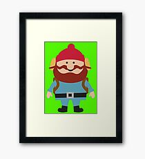 Hipster elf Framed Print