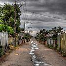 Wet Lane by Rod Wilkinson