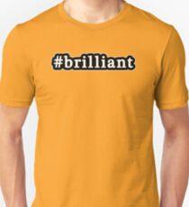 Brilliant - Hashtag - Black & White T-Shirt