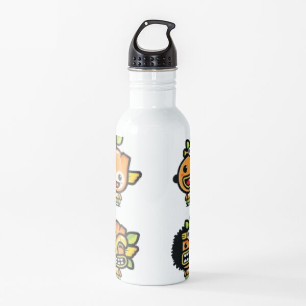 Cultural Masquerade Face Water Bottle