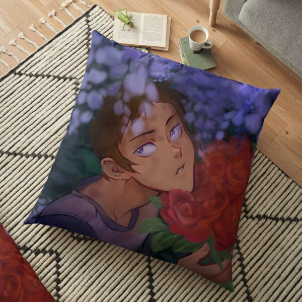 Lance Voltron Flowers Floor Pillow