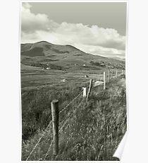 lush fields of ireland Poster