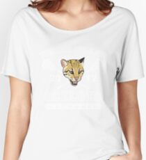 Go Ocelots! (White Fill) Women's Relaxed Fit T-Shirt