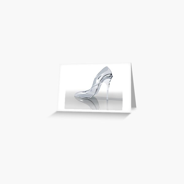 Glass slipper Greeting Card