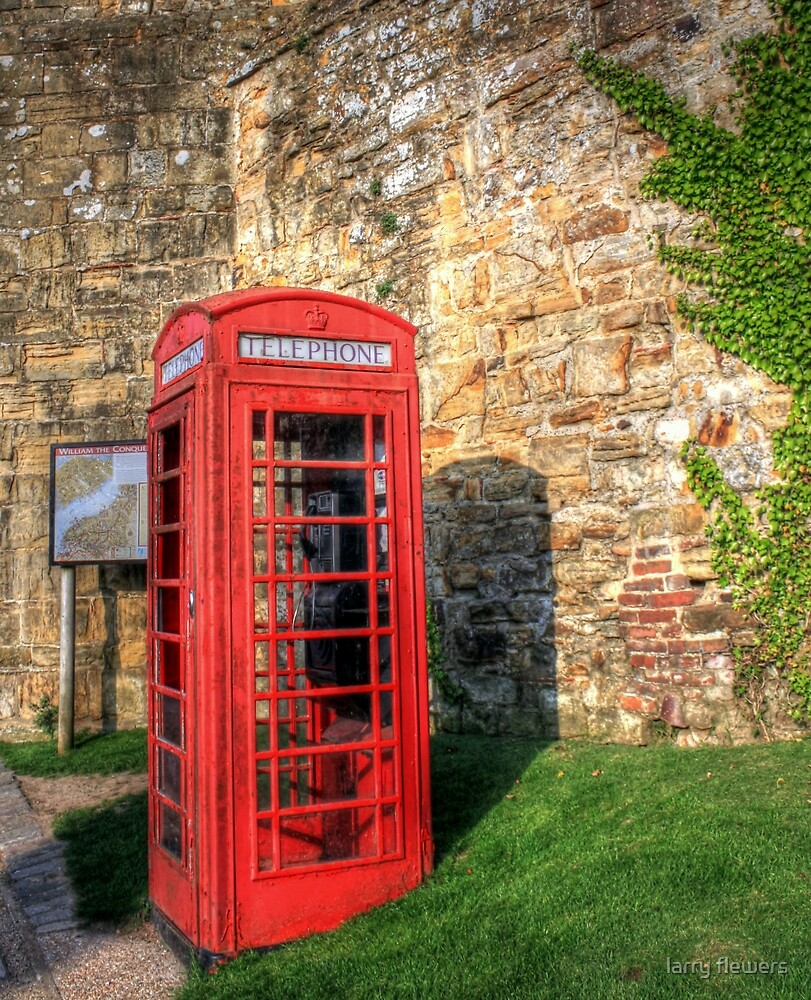 Dialling into the past  by larry flewers