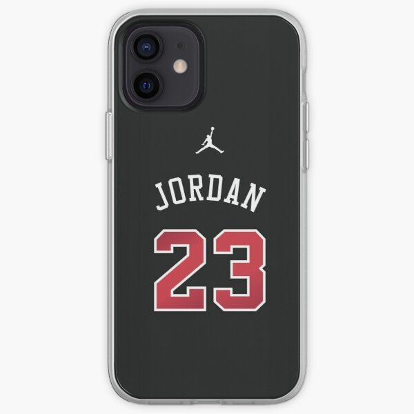 Michael Jordan 23 Jersey Funda blanda para iPhone