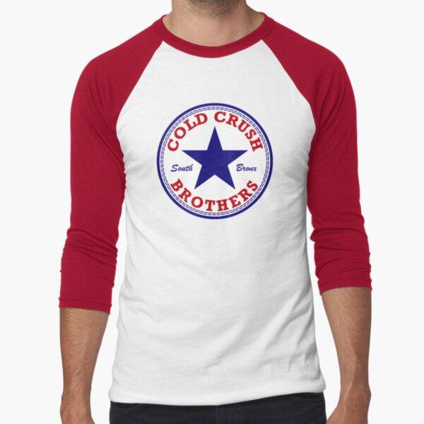 Cold Crush Brothers All Star logo Baseball ¾ Sleeve T-Shirt
