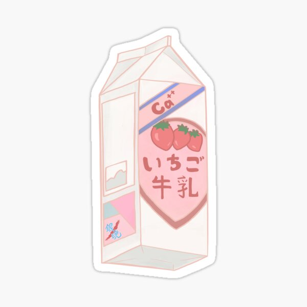 Gintama strawberry milk  Sticker