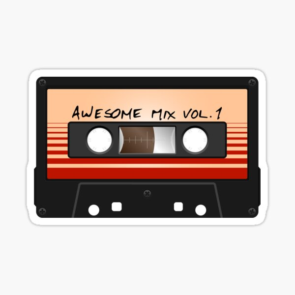 Awesome Mix Vol. 1 Pegatina