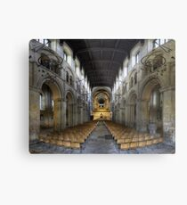 Nave, Rochester Cathedral, Kent, England Metal Print