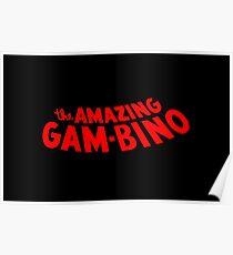 The Amazing Gambino Poster