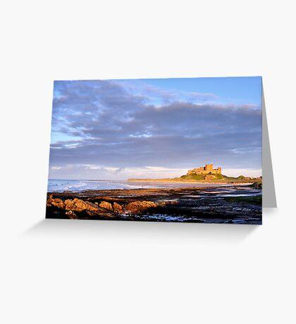 Bamburgh Castle - Northumberland Greeting Card