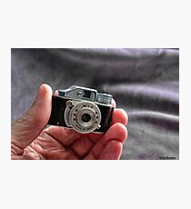 Camera in Hand Photographic Print