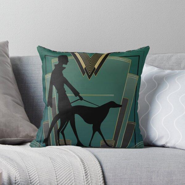 Art Deco Icon Throw Pillow