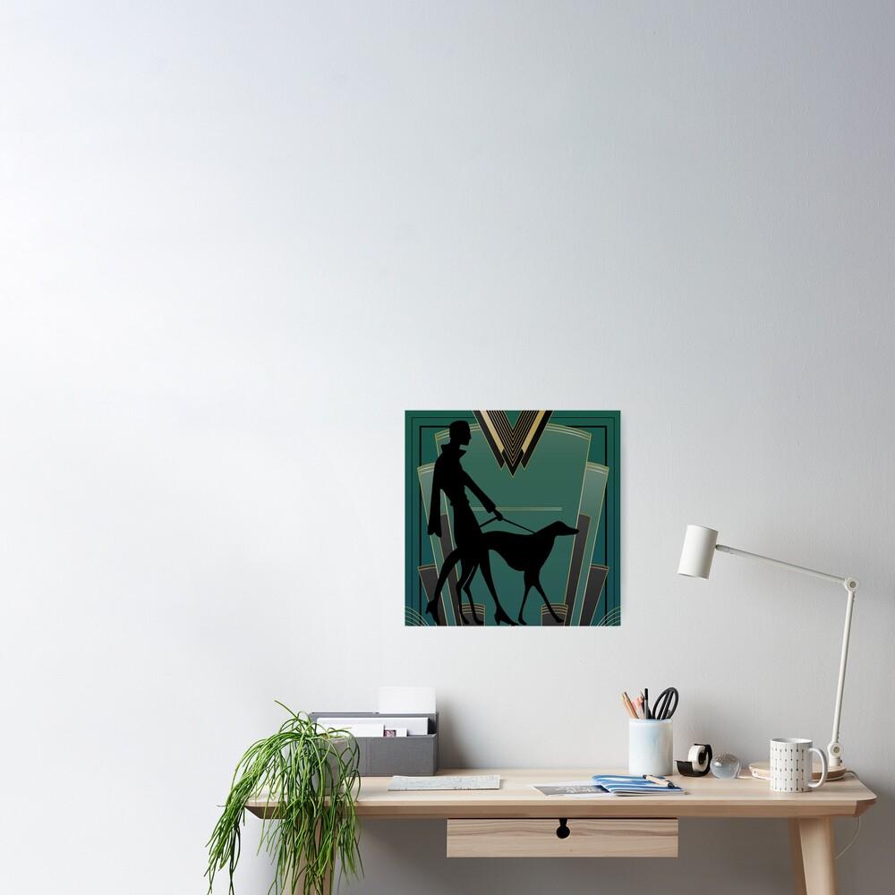 Art Deco Icon Poster