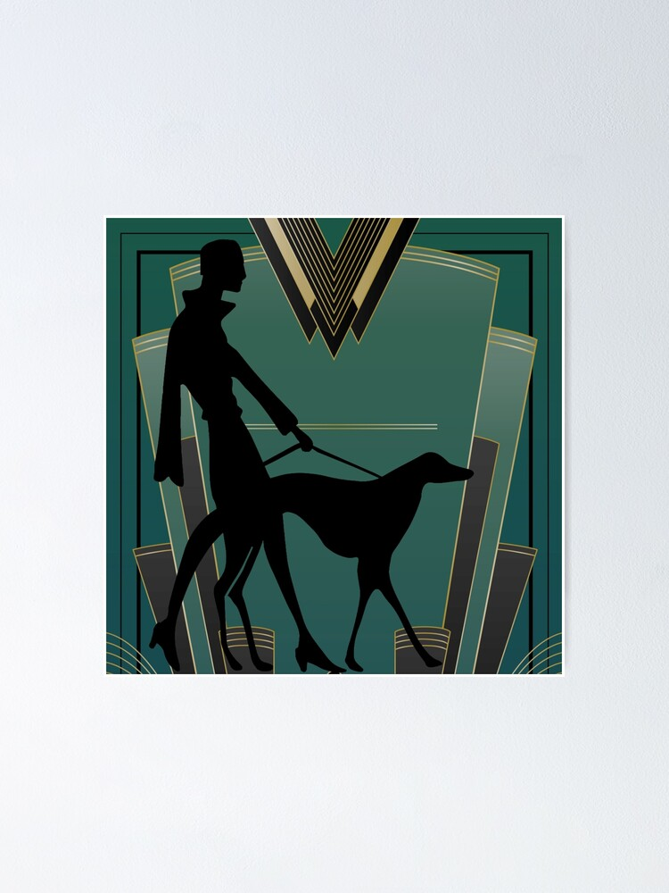 Alternate view of Art Deco Icon Poster