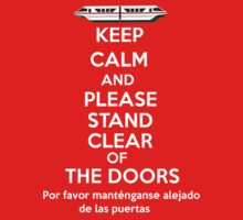 Please stand clear of the doors | Unisex T-Shirt