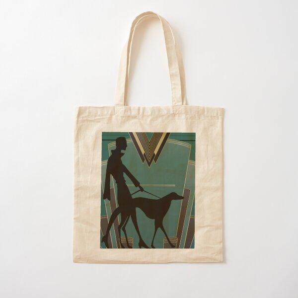 Art Deco Icon Cotton Tote Bag