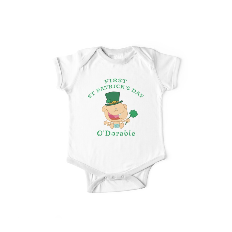 First St Patrick's Day by HolidayT-Shirts