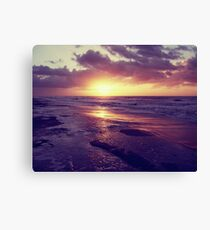 South Carolina Sunrise Canvas Print