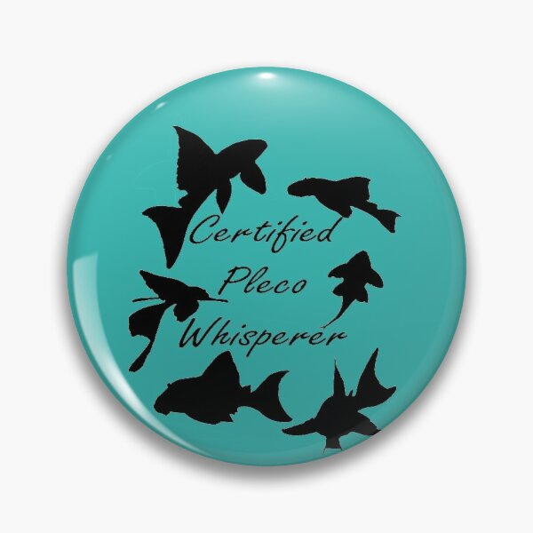 Pleco Whisperer Collage Pin
