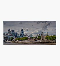 A View from of the South Bank Photographic Print
