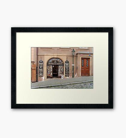Praha: Beautiful Store Framed Print