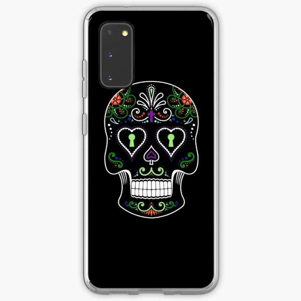 Mexican Calavera Skull Color - Day of the Dead Samsung Galaxy Soft Case