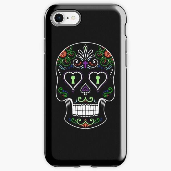 Mexican Calavera Skull Color - Day of the Dead iPhone Tough Case