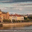 Praha at Sunset by Jacinthe Brault