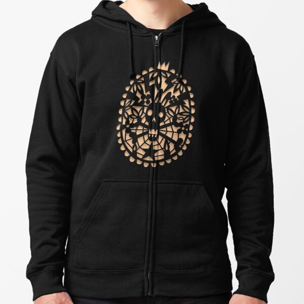 Curse of the bunny Zipped Hoodie